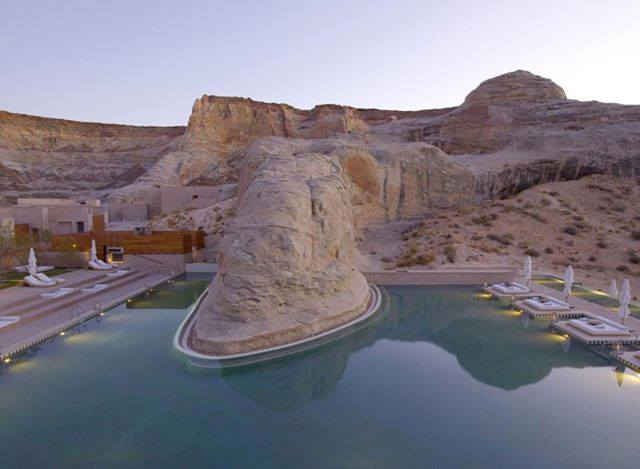 Luxury Resort Hotel in Canyon Point, Utah Amangiri