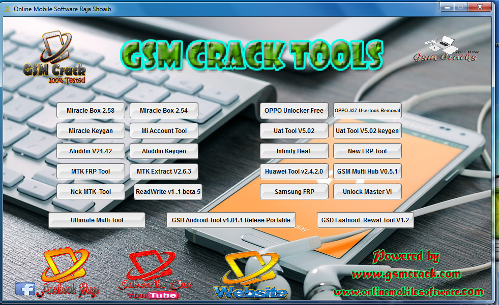 Uni-Android Tool 7 1 Latest Crack 2018 Free Download Without