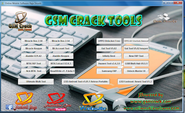 GSM CRACK TOOLS V2 2018 WITHOUT PASSWORD - A Hasam Soft
