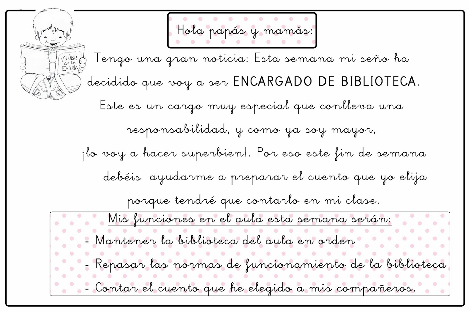 Libreta De Dibujo Con Dibujos Infant: Dulce Infantil: DOCUMENTOS: El PLAN LECTOR En Infantil
