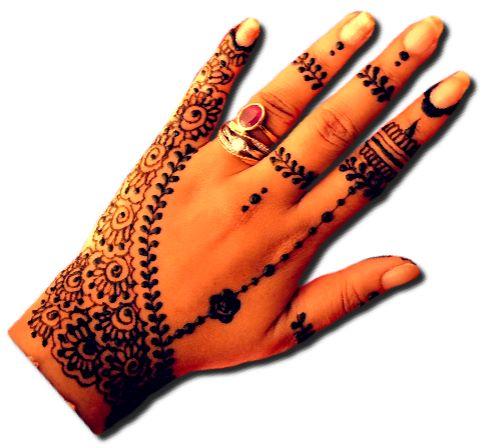 Bridal Special Design for Back Hand
