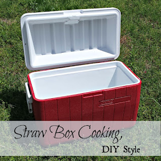 "How to improvise a ""straw box cooker""."