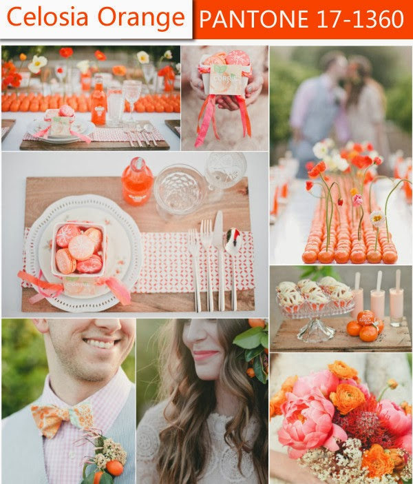 Wedding Color Ideas: Angee's Eventions: Spring 2014 Wedding Color Trends