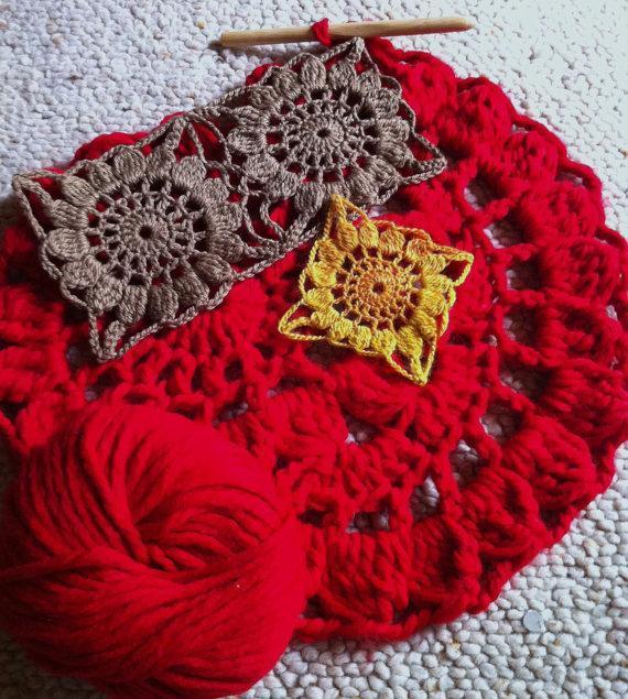 Flores Conectadas de Crochet. Video