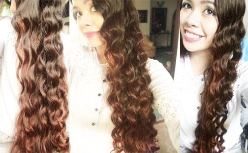 No Heat Chopstick Curls Heatless Inspired Arwen Loose Lotr