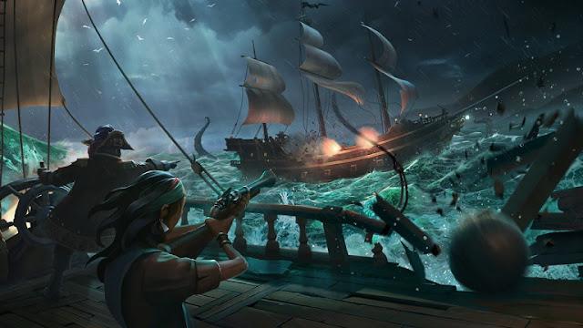 إصدار Sea of Thieves قد يعتمد نظام Cross-Platform بين كل من نسخة Xbox One و PC