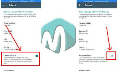 Cara menghilangkan centang biru di whatsapp  Cara Menghilangkan Centang Biru di Pesan Whatsapp Agar Privasi Aman