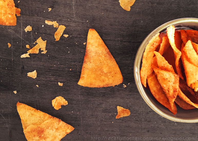nachos o doritos sin gluten fototutorial
