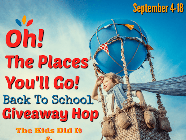 Oh, The Places You'll Go: Back to School Giveaway Hop + American Girl Book Set #Giveaway