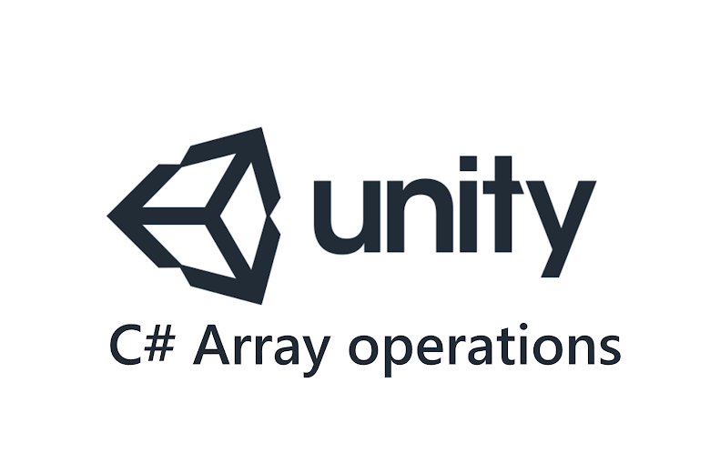 C# Array operations in Unity