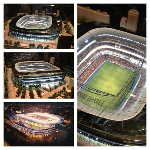 Design proposals for Real Madrid's Santiago Bernabeu