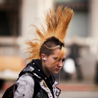 punk hairstyles trendy