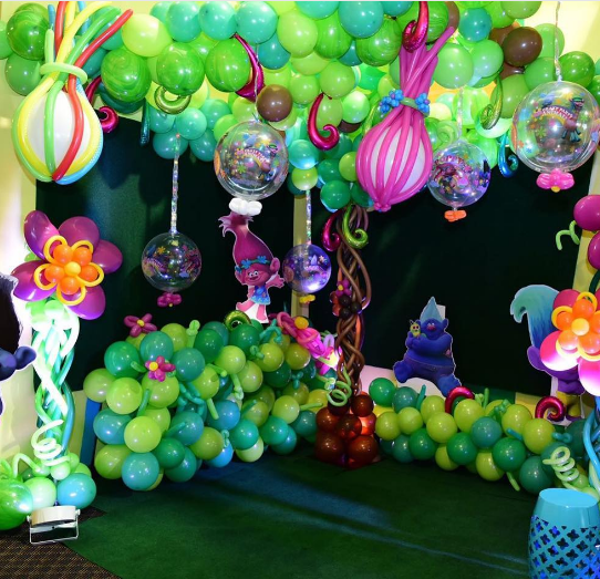 20 originales fiestas de trolls On decoracion trolls