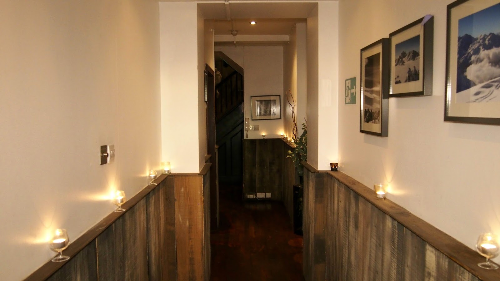 hallway of restaurant