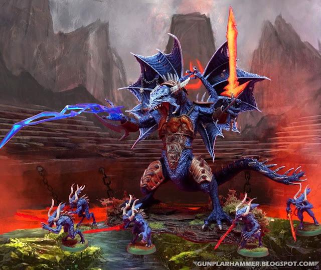 Apolyon, Démon majeur du Chaos (dragon) Warhammer