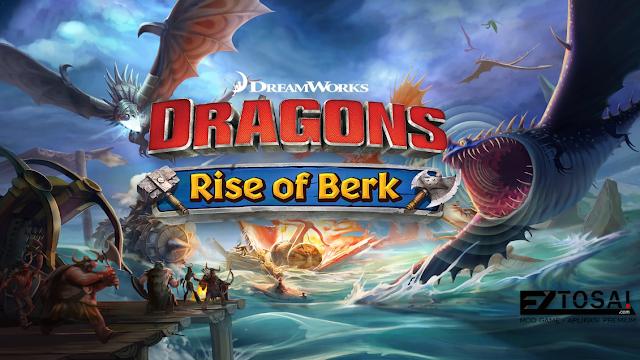 Download Game Dragons Rise of Berk Mod Apk Unlimited Runes Terbaru