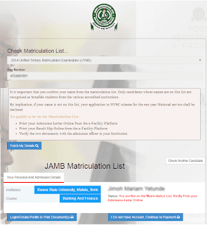 what-to-do-if-your-name-is-not-on-jamb-matriculation-list
