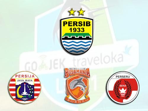 3 laga sisa Persib di Liga 1