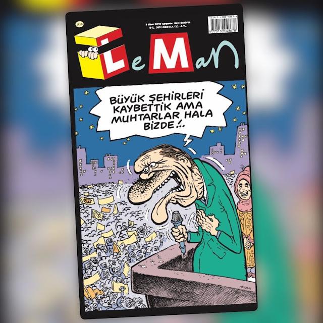 LeMan Dergisi | 3 Nisan 2019 Kapağı