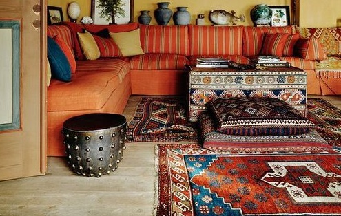 Fall Boho Decor | Autumn Boho Chic Decor