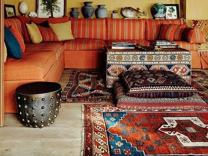 Autumn Inspired Bohemian Home Decor