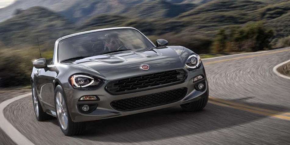 Superior 2018 Fiat 124 Spider Model Changes