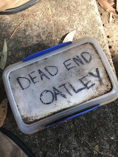 Dead End Oatley Geocache
