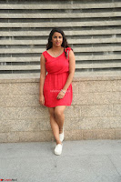 Shravya Reddy in Short Tight Red Dress Spicy Pics ~  Exclusive Pics 116.JPG