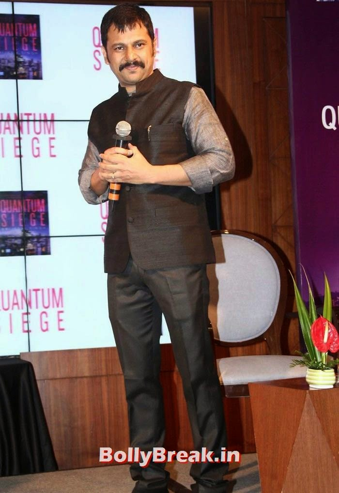 Brijesh Singh, Mandira Bedi, Bhagyashree at 'Quantum Siege' Book Launch by Amitabh Bachchan