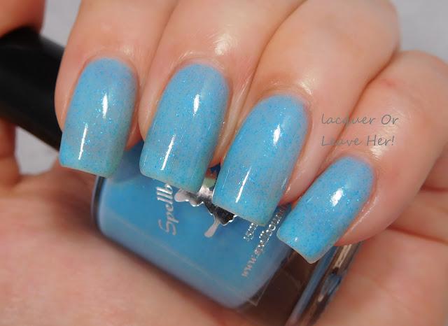 Spellbound Nails Rain Check
