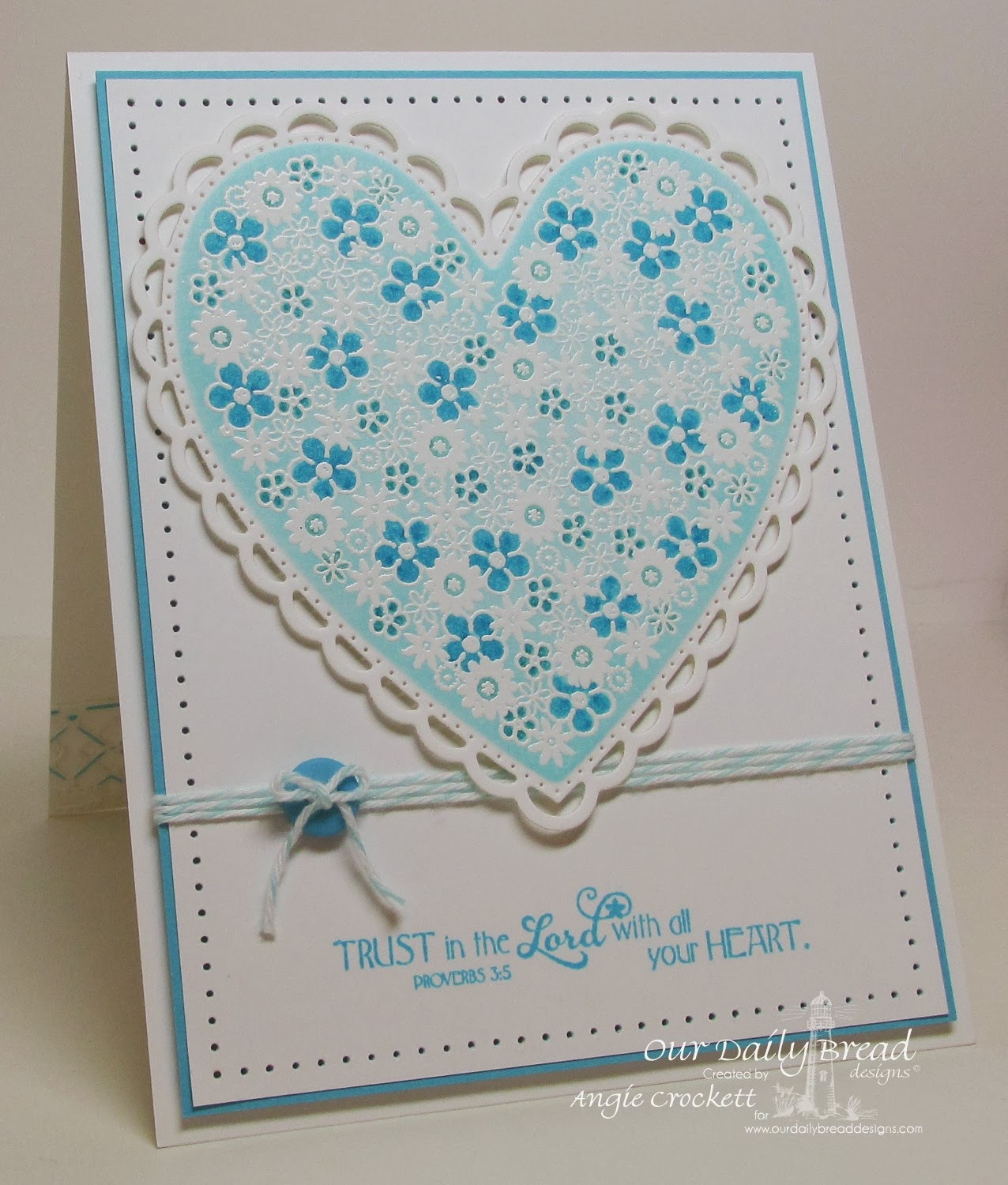 ODBD Flower Heart, Clean Heart, ODBD Custom Ornate Hearts Cutting Dies, Card Designer Angie Crockett