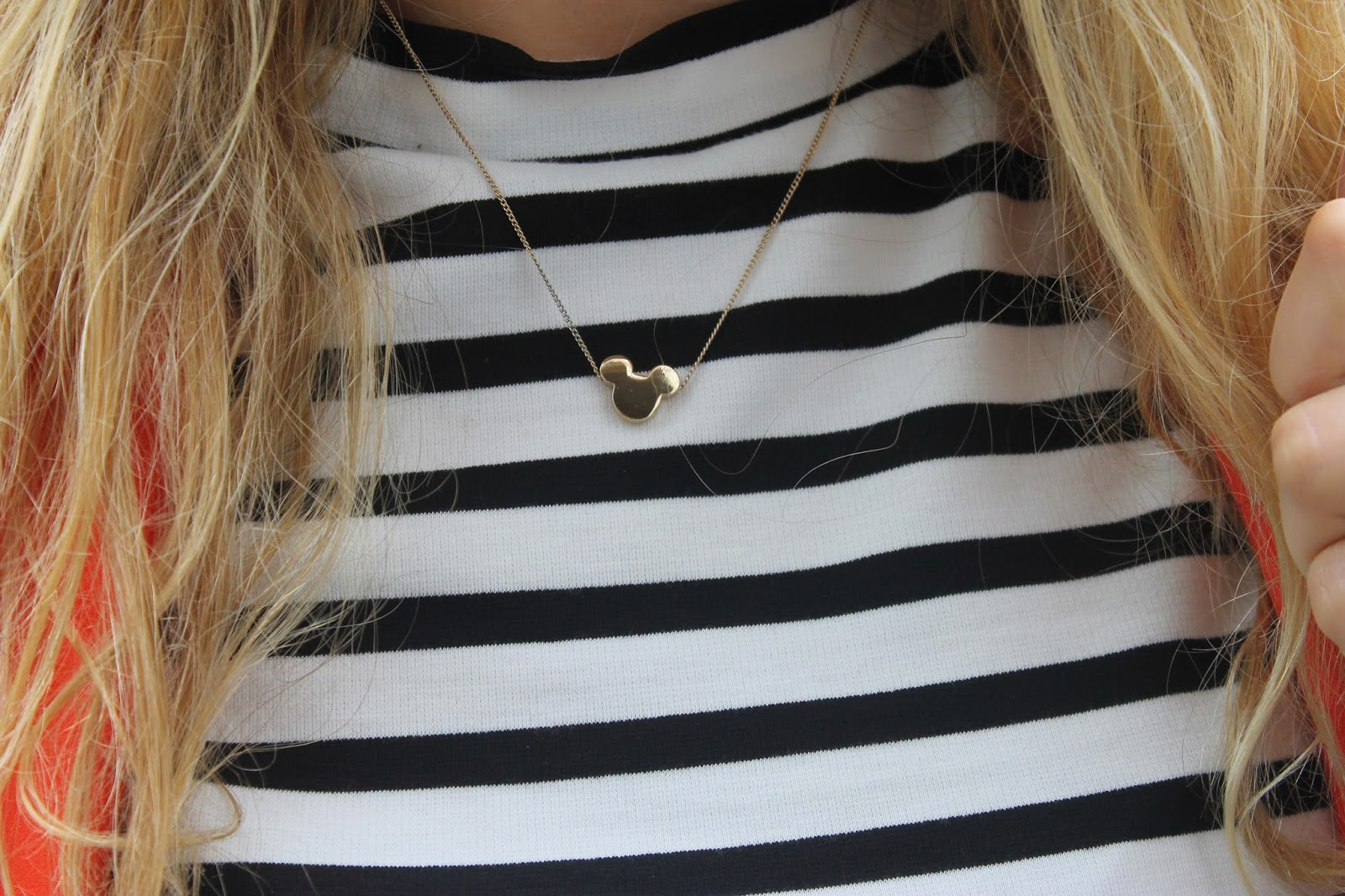 H&M Mickey Necklace