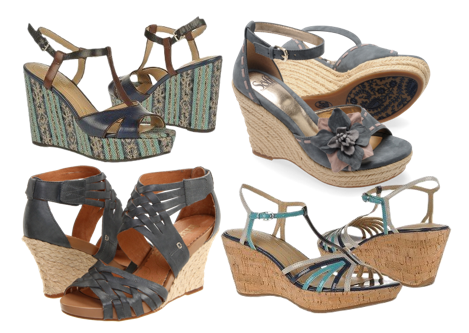 Low Wedges Shoes Uk