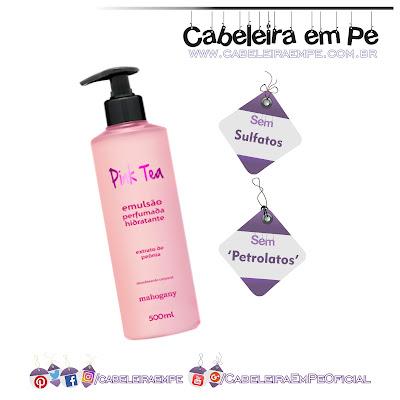 Hidratante Pink Tea - Mahogany (sm sulfatos e sem petrolatos)