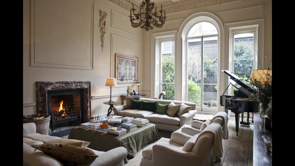 Decor Inspiration London Chic By Rose Uniacke Cool Chic Style Fashion