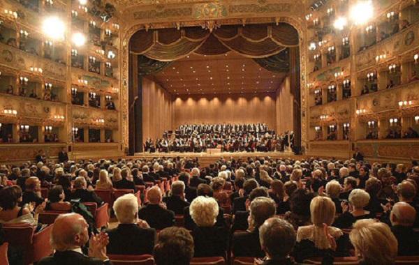 Fenice Theatre La em Veneza