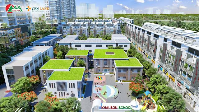 Trường học quốc tế tại Khai Sơn City