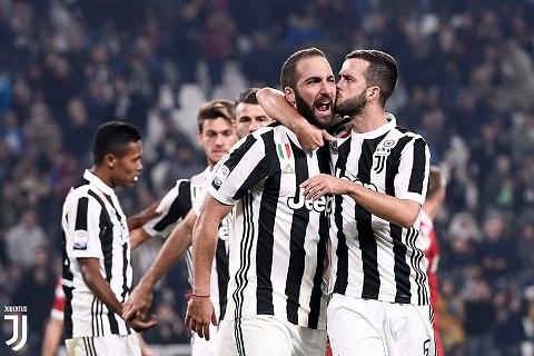 Juventus đang có thành tích khá tốt