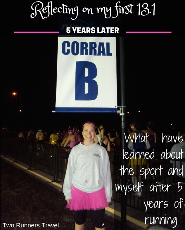 What I've learned about running and myself 5 years after my first half marathon at the runDisney Princess Half Marathon