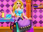 Rapunzel is quite a fashionista. She loves modern clothes and accessories and for this Spring she wants a bag that will stand out. This type of bag is hard to find so the only solution is to diy a plane bag. Let us help Rapunzel transform a dull purse into a wonderful accessory using the special colors, pattern and stickers. Have fun!