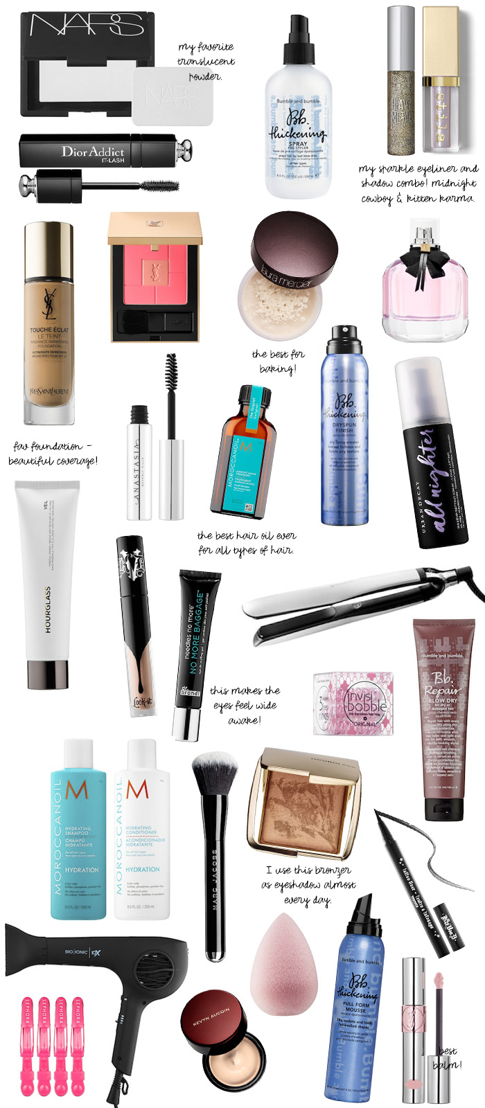 sephora spring bonus favorite products