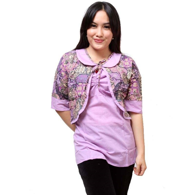 Desain Baju Batik Unik: Koleksi Model Blus Kantor Batik Modern, Desain Unik