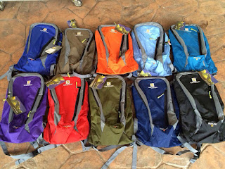 Salomon backpacks