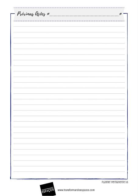 Listas de Próximas Ações