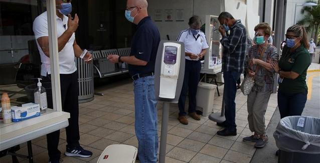 Nέο αρνητικό ρεκόρ στις ΗΠΑ - 60.000 κρούσματα κορωνοϊού σε 24 ώρες! ( μήπως μας δώσουν  εκ των ύστερων λεφτά)