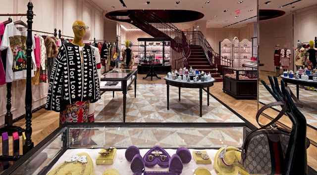 Loja Gucci em Miami e Orlando