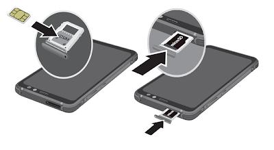 Insret SIM Galaxy S8 Active