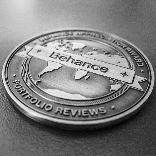 My Behance Appreciation Award Coin