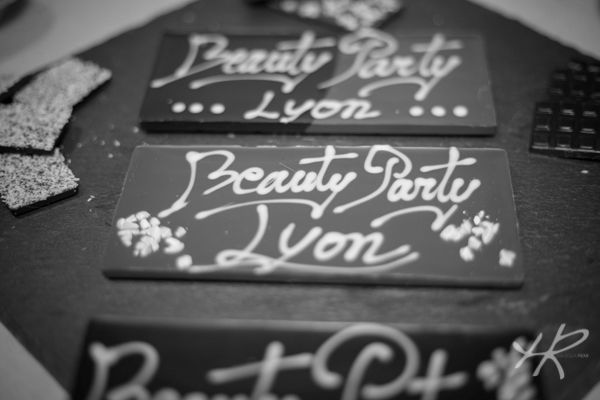 Beauty Party Lyon, craquage en chocolat bio !