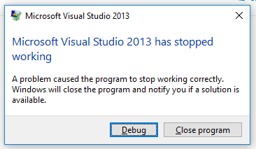 Rants and Tips from a Crazy Old Programmer: Visual Studio